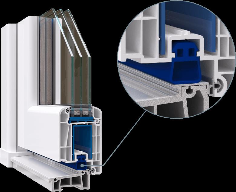 уплотнитель порога, который обеспечивает плотное герметичное примыкание створки к порогу в Кишинёве Никол окна